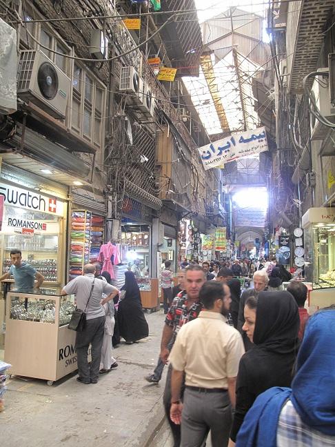 Bazaar in Teheran
