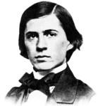 Charles Sanders Peirce in 1859.